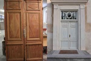 Centrālās pagalma durvis